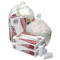 Transparent Trash Can Liners 33 Gallon Size on Sale