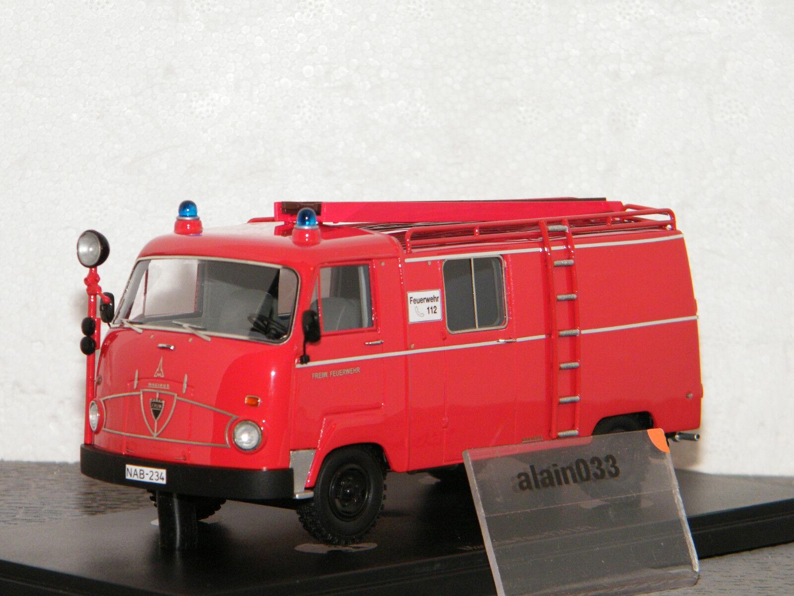 MAGIRUS FAUN F24 LF8 FEUERWEHR D 1964 AUTOCULT 1 43 Ref 12000