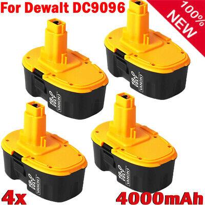 4X DC9098 For DeWalt DC9099 DW9095 DC9096 DW9096 DC825 DC9096-2 18V XRP Battery