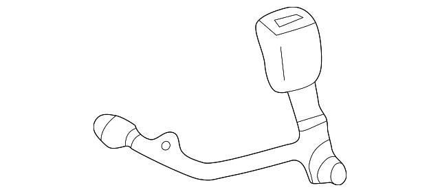 Toyota Oem 01 04 Sequoia Front Seat Belt Buckle Left 732400c020e1
