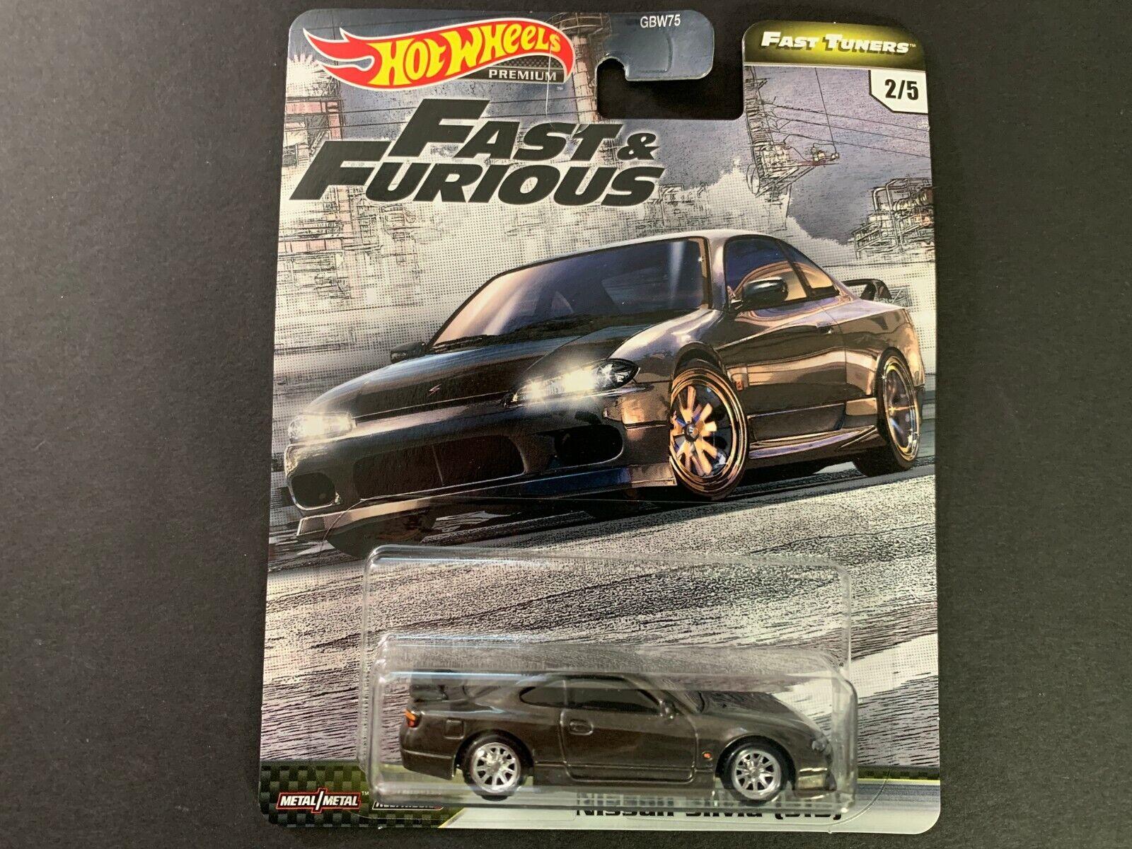 Hot Wheels GBW75-19 Nissan Silvia lila//orange Fast /& Furious 1:64 NEU!°