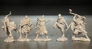 Publius 5 vikings Toy Soldiers Publius et Runecraft Nouvelle Version 1:32 Set Complet