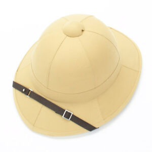 abc2e5a3c67c2 Image is loading British-WWI-Wolseley-Pattern-Khaki-Pith-Helmet