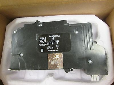 SQUARE D ECB24020G3 2P 20A 480Y//277V NEW IN BOX