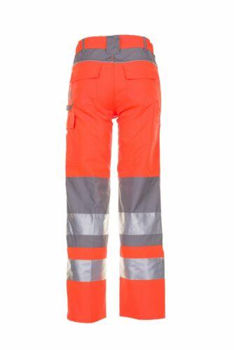 Planam Plaline Warnschutz Herren Bundhose orange zink Modell 5610