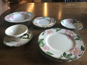 Image is loading Franciscan-Ware-Desert-Rose-Dinnerware-Lot-of-Replacement- & Franciscan Ware Desert Rose Dinnerware Lot of Replacement Pieces   eBay