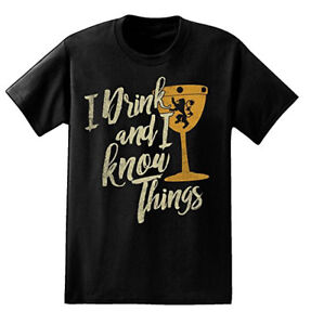 Game-Of-Thrones-I-DRINK-AND-I-KNOW-THINGS-GOBLET-TYRION-LANNISTER-T-Shirt-NWT