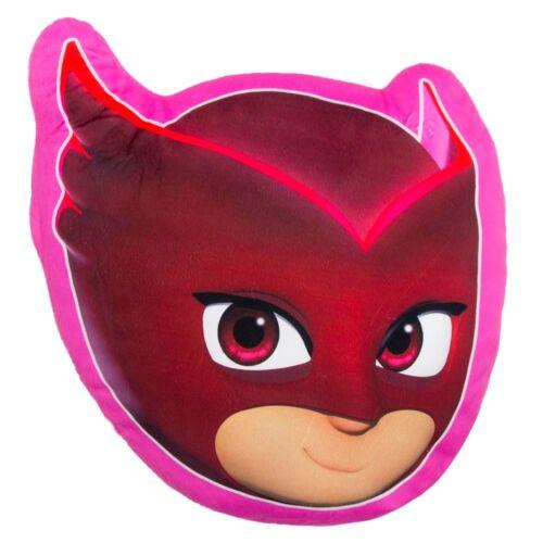 3-fach sortiert Owlette PJ Masks Pyjamahelden Kissen Plüsch Gekko Catboy