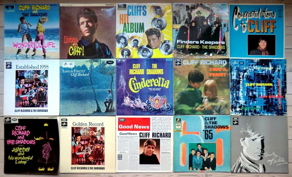 LP, Cliff Richard, 15 Sjældne LP'er