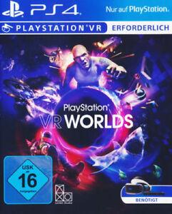 Playstation VR Worlds PlayStation VR Playstation 4 NEUWARE neu und verschweisst - Oberhausen-Rheinhausen, Deutschland - Playstation VR Worlds PlayStation VR Playstation 4 NEUWARE neu und verschweisst - Oberhausen-Rheinhausen, Deutschland