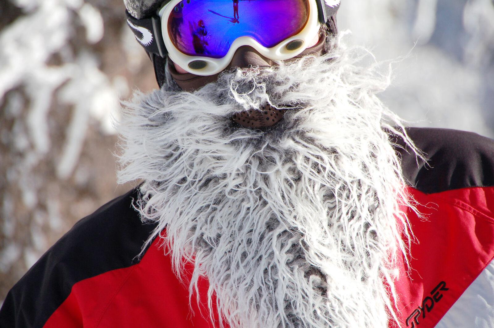 Beardski Biker Skimask Ski Mask SKI SNOWBOARDING One Size BRAND NEW