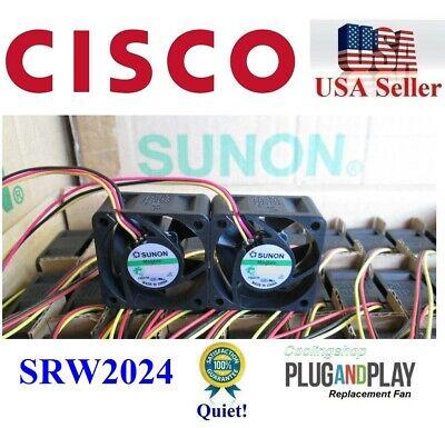 Cisco Linksys SRW2024 Fan Kit 2x Sunon Cisco Linksys original Fan 10cfm
