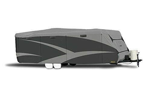 Travel Trailer RV Weather Protection Cover - Easy to Install (26'1  x 28'6 )