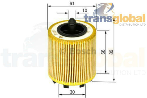 F026407016 Engine Oil Filter Suitable for Various Vehicles Bosch