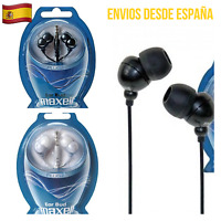 Auriculares MAXELL Intrauditivos Ear Bud Plugz 2 Colores Negro Blanco