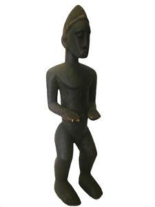 Grosse Baule Figur Elfenbeinküste Ivorycoast Westafrika Stammeskunst Spezieller Kauf