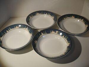 "Brandon House Country Quartet Coupe Cereal Soup Salad Bowls 7.5/"" Sakura"
