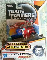 Transformers Dark Of The Moon Optimus Prime Activators 2011