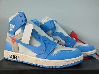 Nike X off white Air Jordan 1 Retro High Og UNC i dieci UK 13US 14 AQ1808 148 | eBay