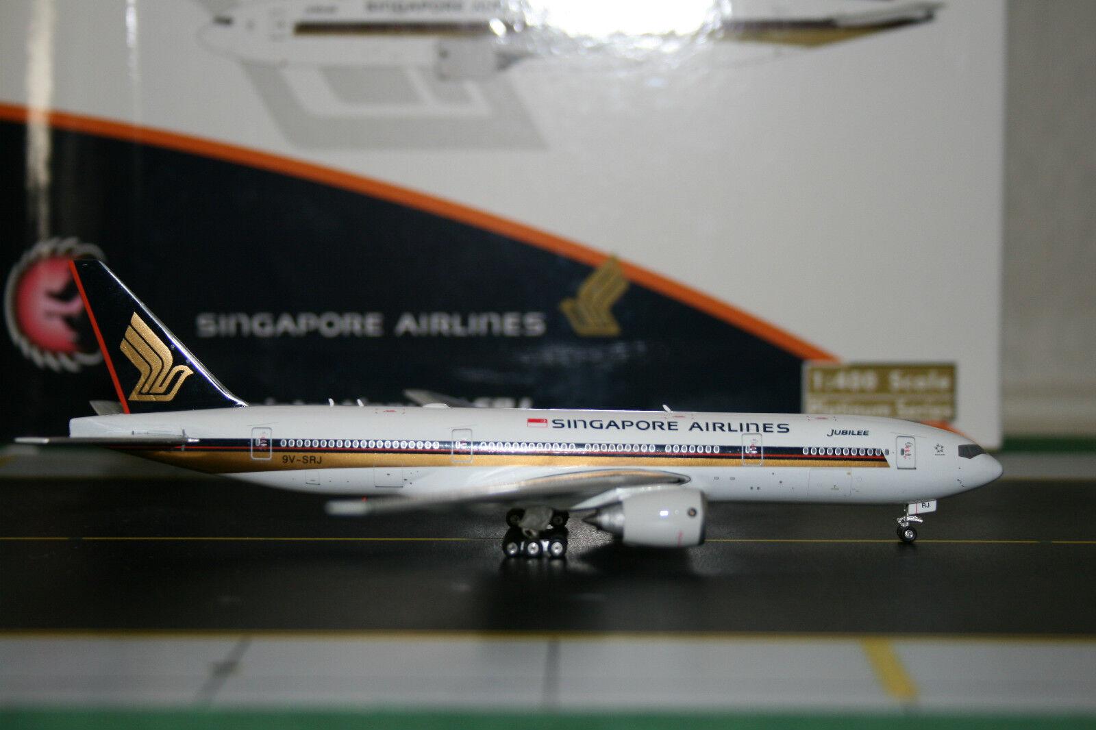 Phoenix 1 400 Singapore Airlines Boeing 777-200 9V-SRJ 'Jubilee' (PH4SIA1310)
