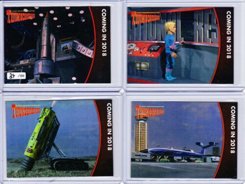 PS1 to PS4. Thunderbirds Series 2 Preview Set Limited to 100