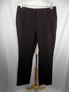 Lauren-Ralph-Lauren-WOMEN-039-S-Dress-PANTS-SZ-6-BROWN-30-x-31