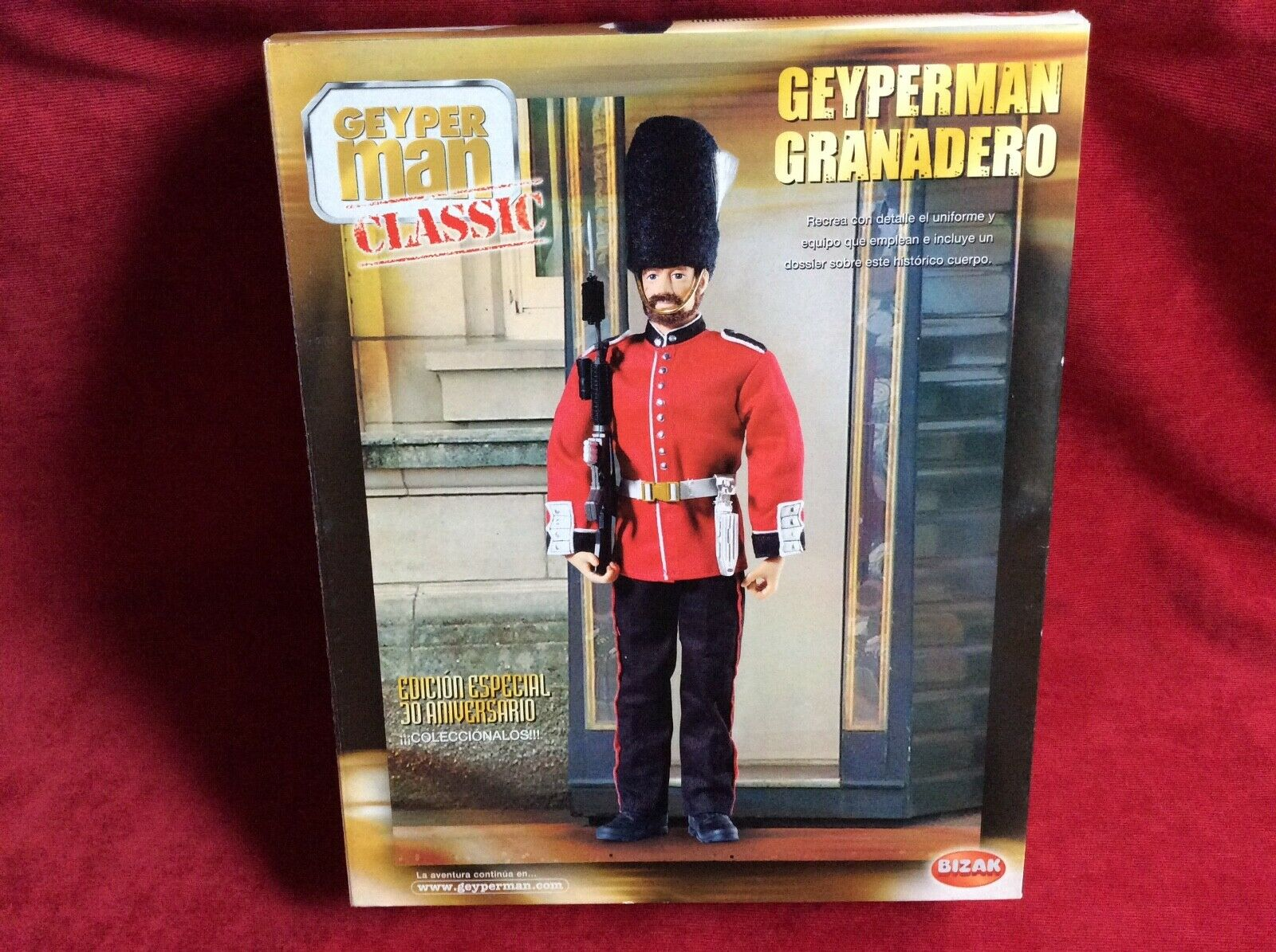GEYPERMAN granadero ingles Geyper man