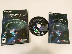 STAR-TREK-LEGACY-JUEGO-EN-INGLES-PARA-PC-CD-ROM-MANUEL-EN-ESPANOL-BETHESDA