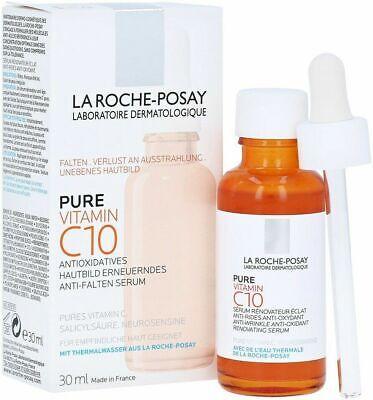 La Roche Posay Pure Vitamin C10 Anti Wrinkle Anti Oxidant Renovating Serum 30ml Ebay