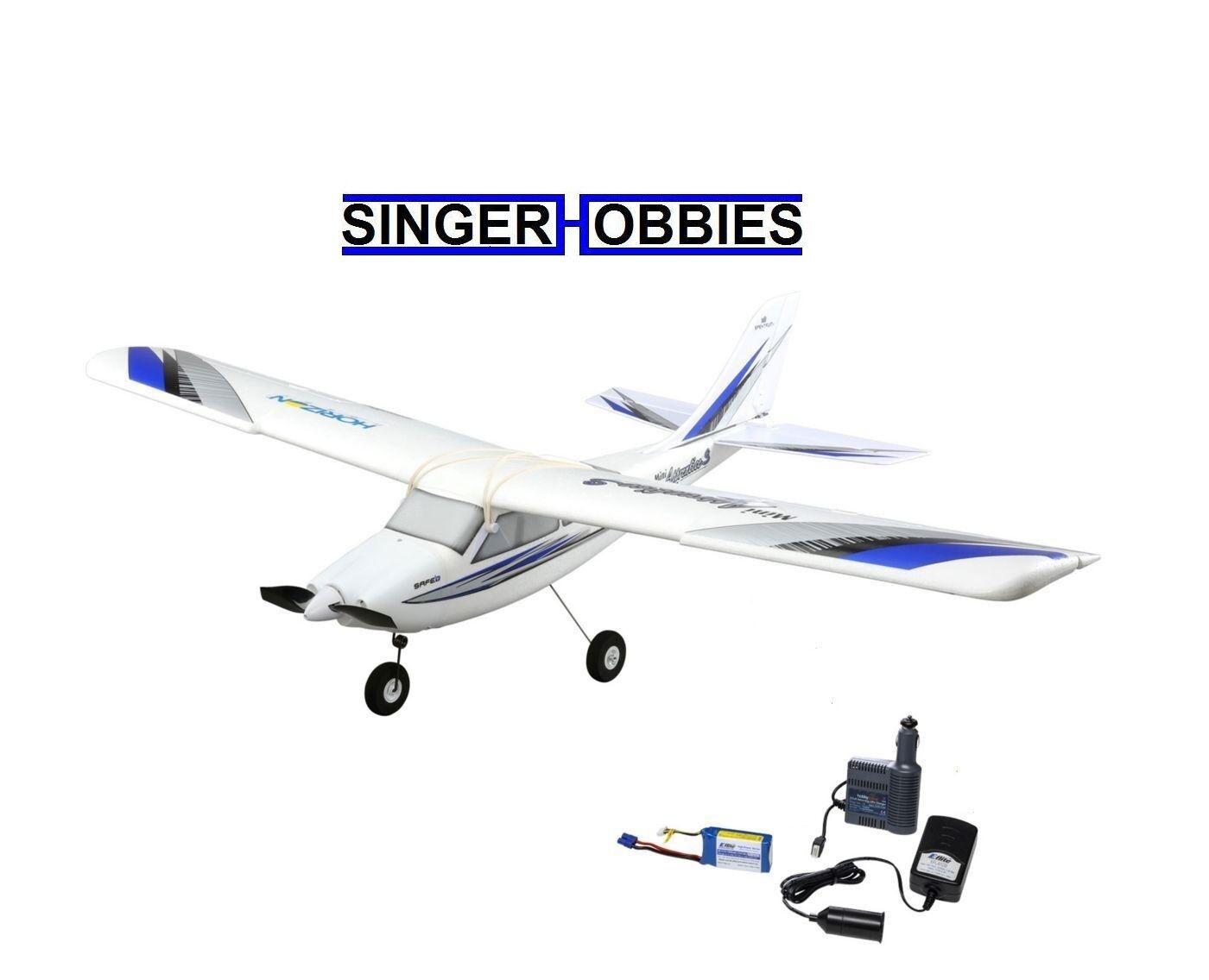 HobbyZone Mini Apprentice S BNF Radio Control Airplane w  SAFE Tech HBZ3180 HH
