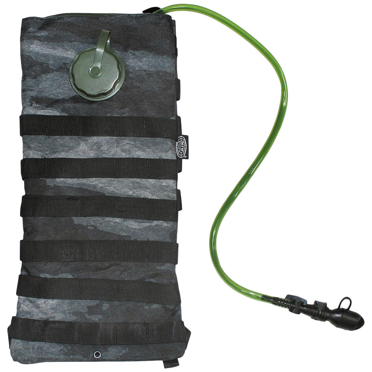 MFH Hydration Bladder Water Carrier 2.5 L Trekking Hunting Outdoor HDT Camo LE
