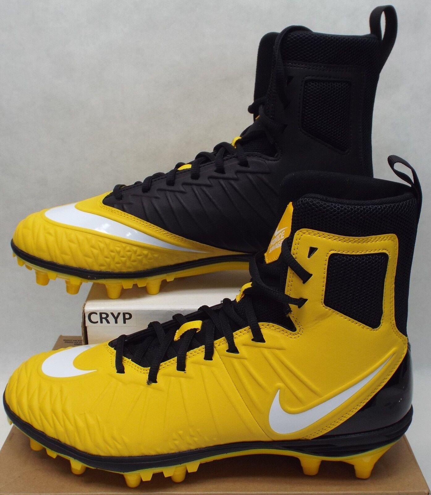 Nuova Uomo 10 nike vigore savage elite pro calcio shoes139 880140-710 giallo nero