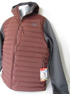 d95264da8 Details about The North Face Trevail Stretch Hybrid 700 Fill Down HOODED  Jacket Mens Size XL