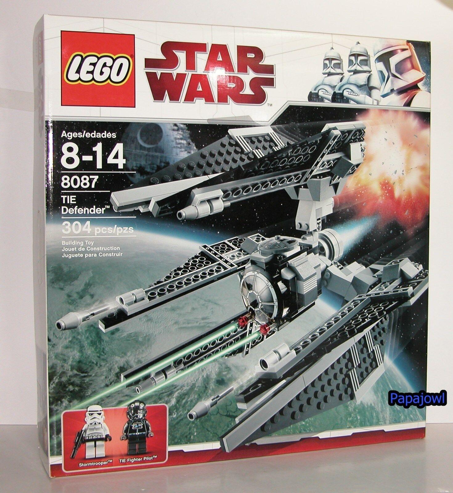 LEGO estrella guerras 8087 TIE DEFENDER  combatiente Pilot 304 Pieces Stormtrooper nuovo  all'ingrosso a buon mercato