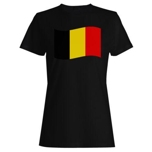 Belgium Flag Travel The World Ladies T-shirt//Tank Top g271f