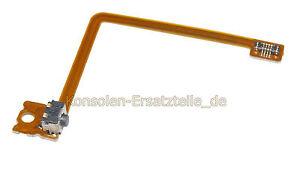 3DS-XL-Schultertaste-L-links-mit-Flexkabel-Schalter-L-Taste-Knopf-linke-Seite