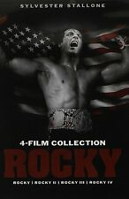 Rocky: Complete Sylvester Stallone Boxing Movie Series 1 2 3 4 Box / DVD Set NEW