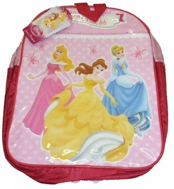 fb5cc701636 DISNEY PRINCESS JUNIOR BACKPACK CHILDS KIDS RUCKSACK SCHOOL BAG NEW DESIGN  BELLE