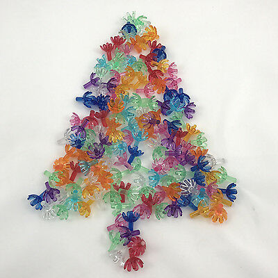 """144 Flower Pegs for Ceramic Tree Lights Pegs Bulbs Assorted Colors 3/16"""" stem"""
