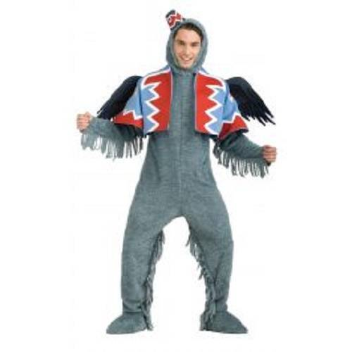 Mens Adult The Wizard Of OZ Funny Deluxe Flying Monkey Costume