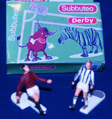 Appena Subbuteo: Coppia Di Corner Kickers (c 131) Con Le Maglie Di Juventus E Torino***