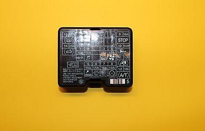 98 99 00 01 02 03 MITSUBISHI MONTERO DASH FUSE BOX COVER LID OEM | eBayeBay