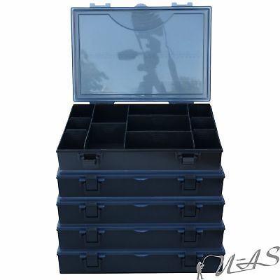 3 X Delta Fishing Top XL Tackle Box 34,5X 25,5X 6,3CM Köder Box Zubehör Dose Rba