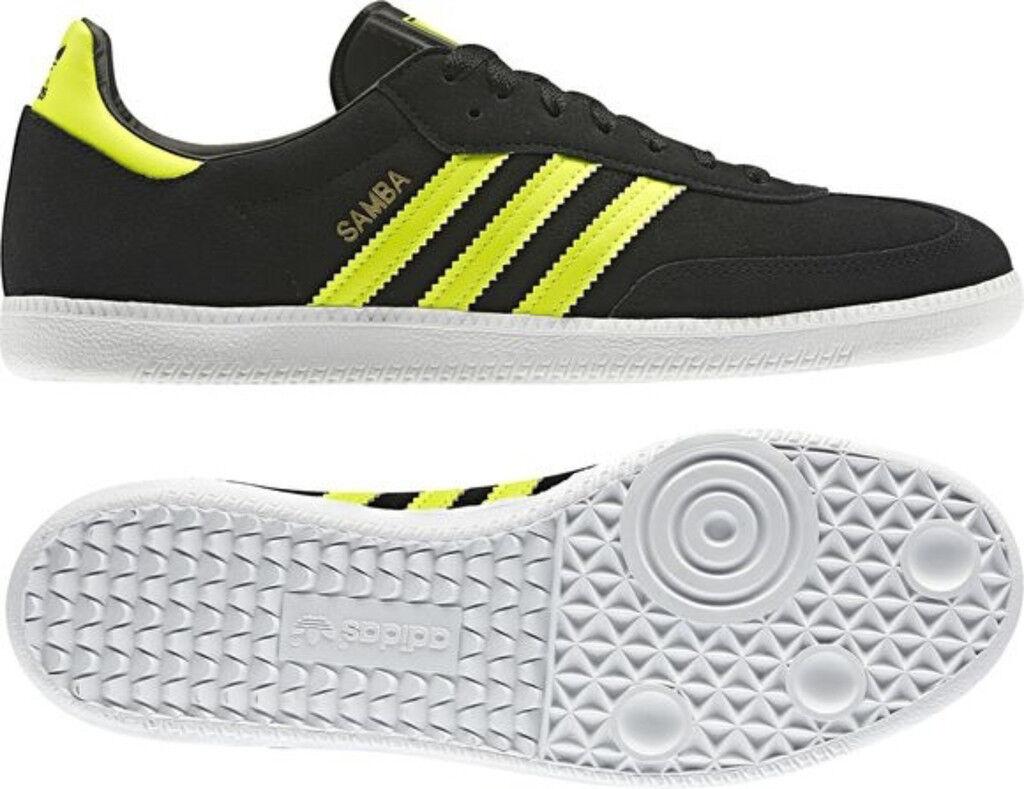 ADIDAS SAMBA black yellow Originals Sneaker Sportschuhe