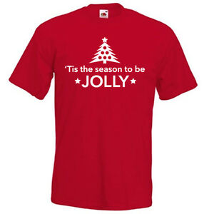 a11852dc939 Tis is the season to be JOLLY Christmas carol song music funny men ...