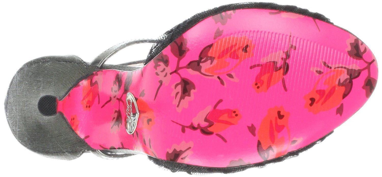 Betsey Johnson Women's Women's Women's Beaconn Pump,Pewter Fabric shoes HI HEELS 5 INCH US 7.5 40caa5