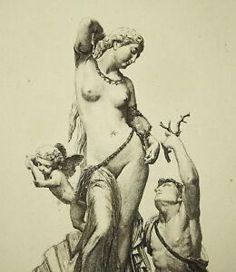 The-toilet-venus-Aphrodite-Paul-RAJON-1842-43-1888-original-engraving-xixth