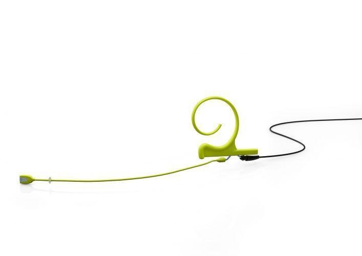DPA d fine FIDLL B00 Ein-Ohr-Headset,lime (grün), 120mm Boom, Microdot Stecker