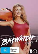 BAYWATCH : COMPLETE SEASON 8 (english cover) -   DVD - UK Compatible -sealed