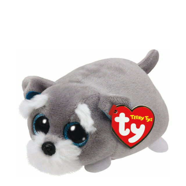 f6a4ea5936d Ty Beanie Babies 42164 Teeny TYS Jack The Grey Dog for sale online ...